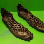 Shoes of Damendorf Man from Germany dated 2nd to 4th century