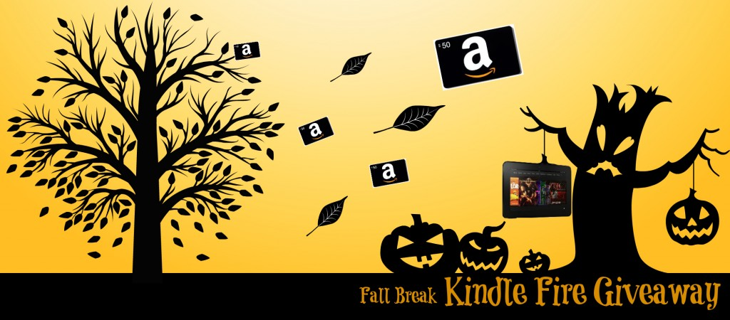 KBR Kindle Fire Fall Giveawaya